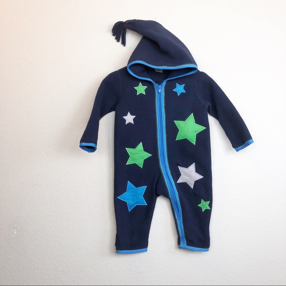 a3fd4101e Hanna Andersson One Pieces | Star Fleece Bunting 70 | Poshmark